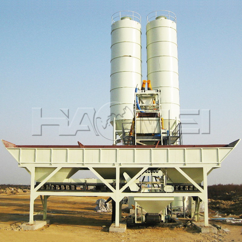 What Are the Main Characters of HZS25 Concrete Batching